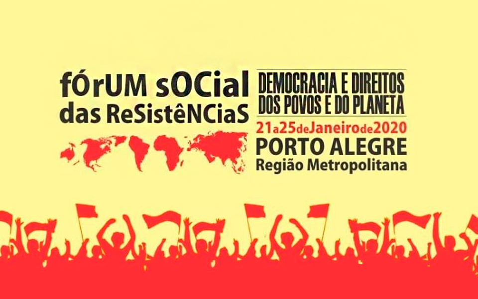 ASBRAN presente no 2º Fórum Social das Resistências - RS