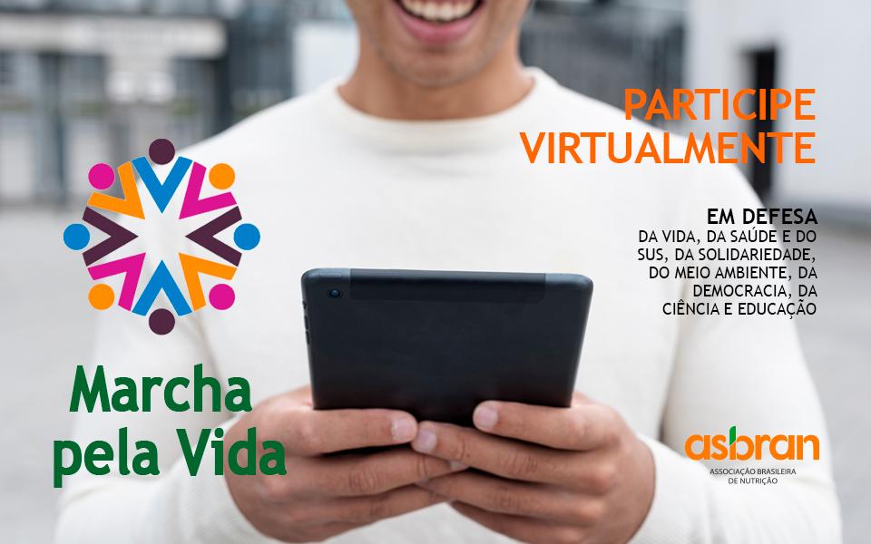 Marcha Virtual Pela Vida acontece dia 9 com várias atividades