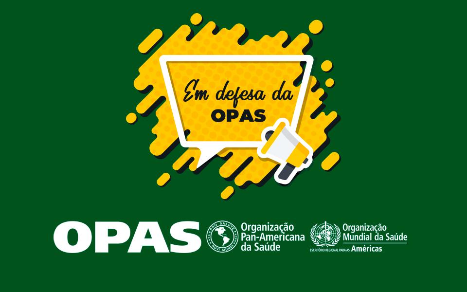 Entidades assinam documento sobre a relevância da OPAS para o SUS