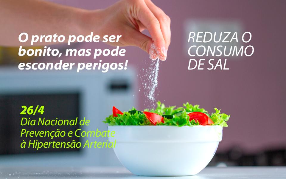 Combate à hipertensão: reduzir sal não quer dizer perder sabor