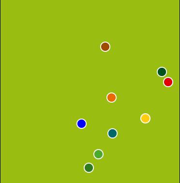 Mapa Filiadas